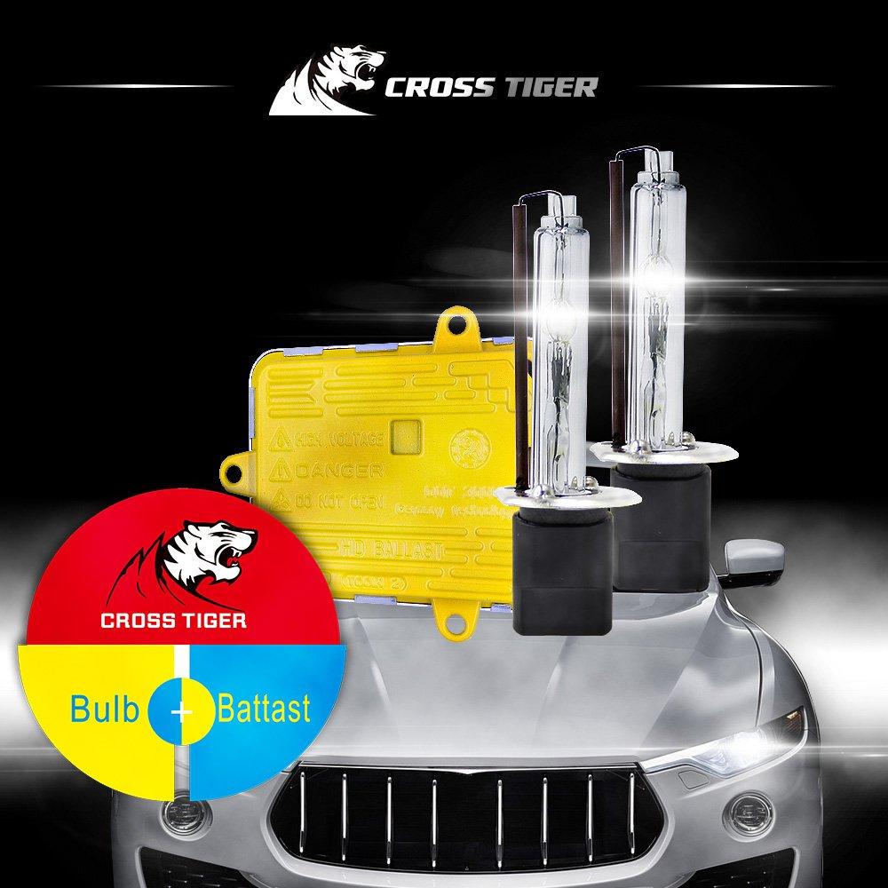 H1 Hid 110w One Set Ballast Bulbs Ac Highlight Opt7 Wiring Schematic Flash Xenon Lamp Headlight Conversion Kit Automotive