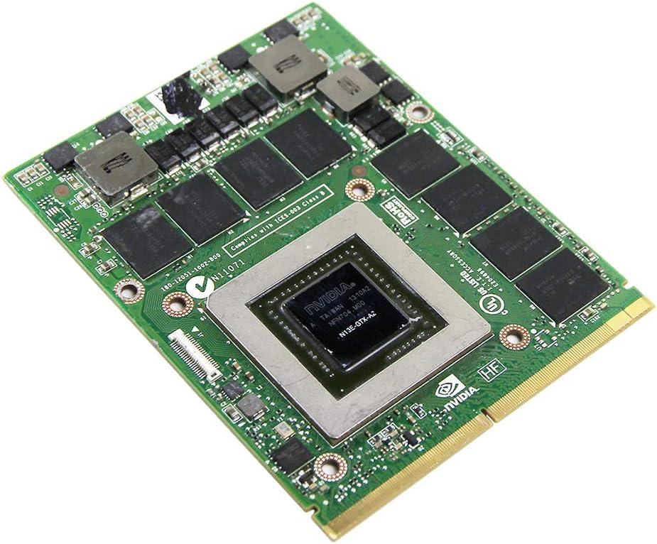 Amazon Com Original Gddr5 2gb Graphics Video Card Gpu Replacement For Alienware M15x M17x M18x R1 R2 R3 R4 Gaming Laptop Nvidia Geforce Gtx 680m 2 Gb N13e Gtx A2 Mxm Vga Board Repair Parts