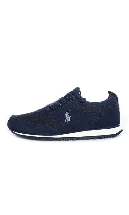 POLO RALPH LAUREN Ponteland Hombre Zapatillas Azul: Amazon.es: Zapatos y complementos