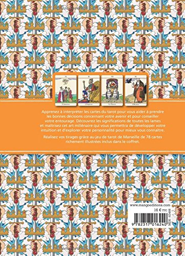 ca65073e069735 Amazon.fr - Le tarot divinatoire   Interprétez les cartes pour prendre les  bonnes décisions - Un livre et un jeu de cartes - Catherine Davidson, ...