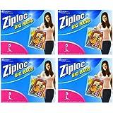 Ziploc Big Bags, Large, 5 Count (4 Packs (Large, 5 ct))