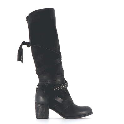 A.S.98 stiefel, Damen High Heels A.S.98 Stiefelette nero