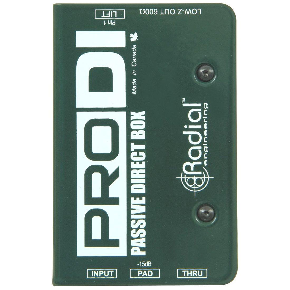 Radial Prodi Passive Direct Box R8001100
