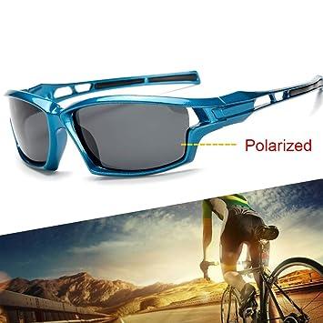 Amazon.com: ESFHWYP - Gafas de sol deportivas polarizadas ...