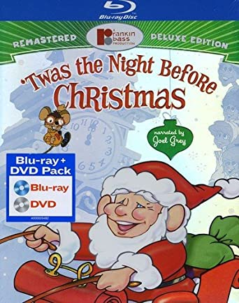 twas the night before christmas deluxe edition blu ray