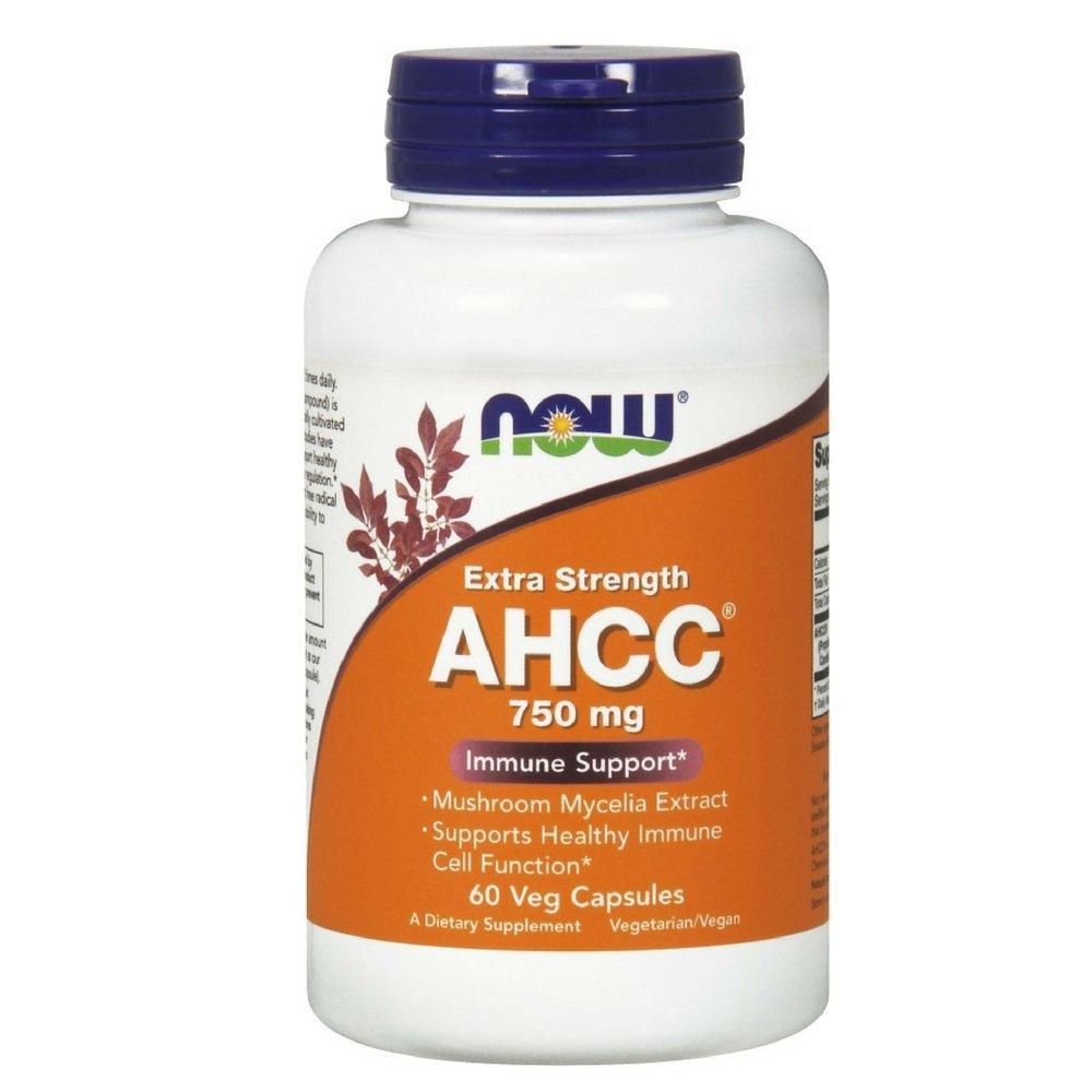 海外直送品 Now Foods AHCC, 60 Vcaps 750 mg B000K20I4Q