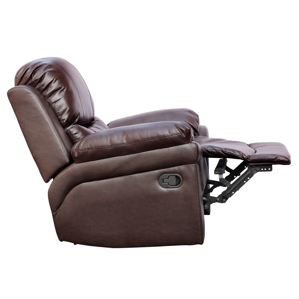 POSTANA Jumbo Cord Fabric Power Recliner Armchair Electric