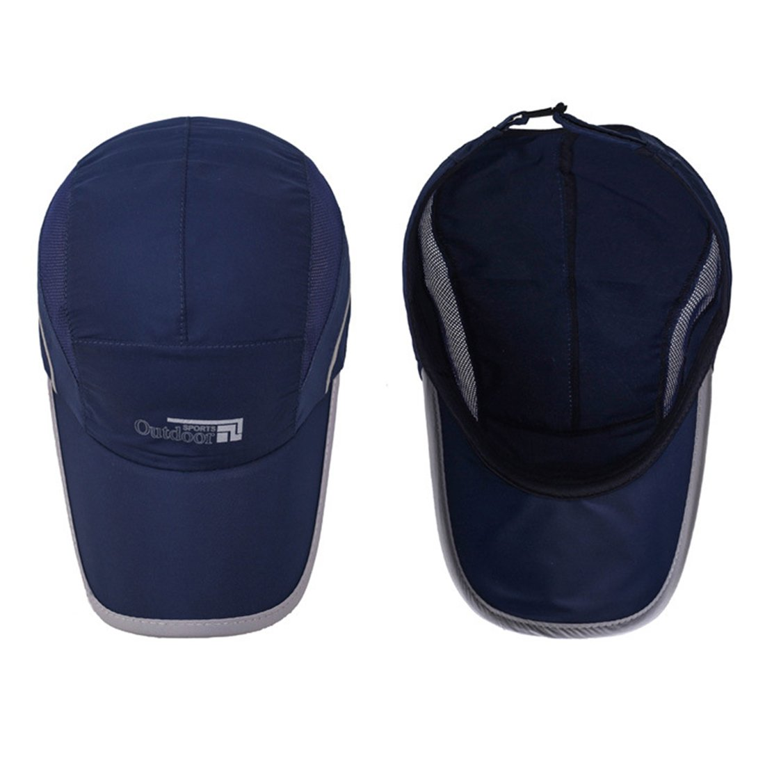 Unisex Adjustable Baseball Cap Summer Mesh Running Hats Sport Cap Outdoor Sport Waterproof Hat Trucker Hat for Hiking Cycling