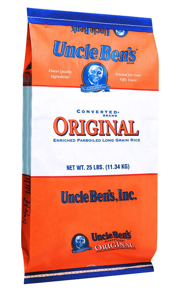 UNCLE BEN'S Converted Rice, 25 Pound