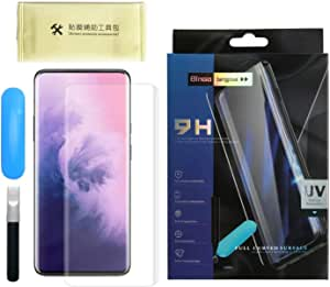 For OnePlus 7 Pro Nano Optics UV Light Curved Glass Screen Protector Full Glue - Clear