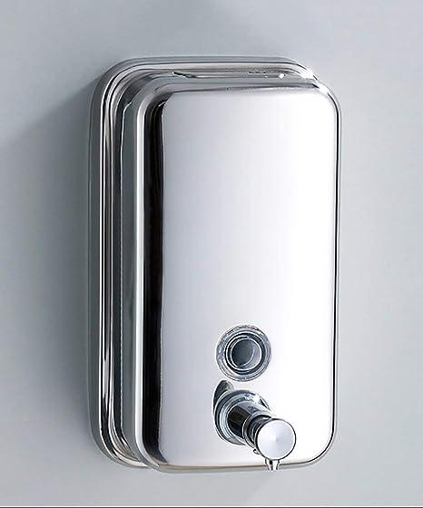 Dispensador de loción Dispensador de jabón Acero Inoxidable ...