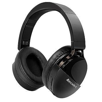 Beexcellent-Q7 Auriculares Bluetooth (Inalambricos/con Cable)=40 Hrs de la Música Hi-Fi Sonido Estéreo / 30 Hrs de Llamar para Usar enTableta, ...