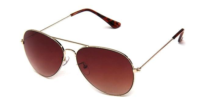 b749c497e5d Amazon.com  Aviator Style Classic Top Gun Sunglasses  Clothing