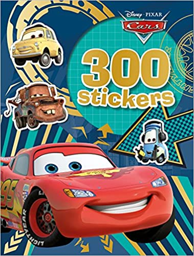 CARS - 300 Stickers
