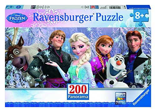 Ravensburger Disney Frozen Friends Panorama 200 Piece Jigsaw Puzzle for Kids  Every Piece is Unique, Pieces Fit Together Perfectly