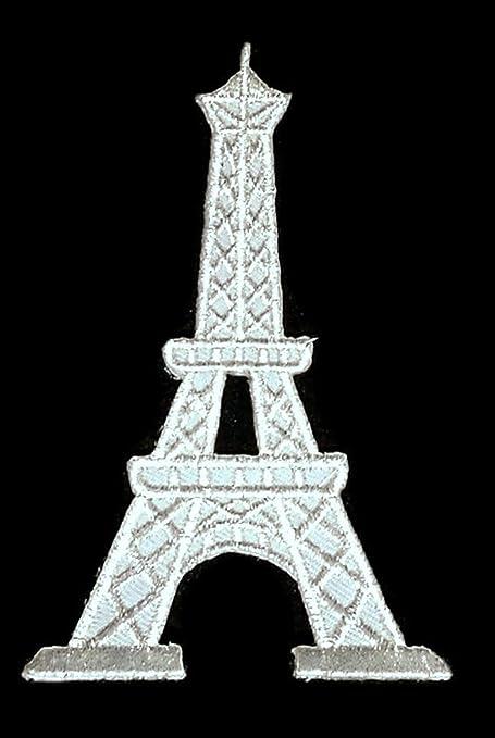 París Francia Francés Parche Bordado Parches de bricolaje, de ...