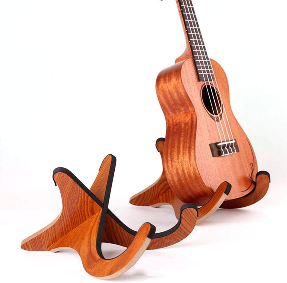 Stand Ukulele Soporte Pared Guitarra Soporte Plegable y Portátil ...