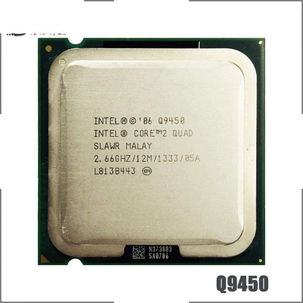 Intel Core 2 Quad Q9450 2.6 GHz Quad-Core CPU Processor 12M 95W 1333 LGA 775