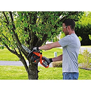 BLACK+DECKER LCS1020 20V MAX Lithium Ion Chainsaw, 10""