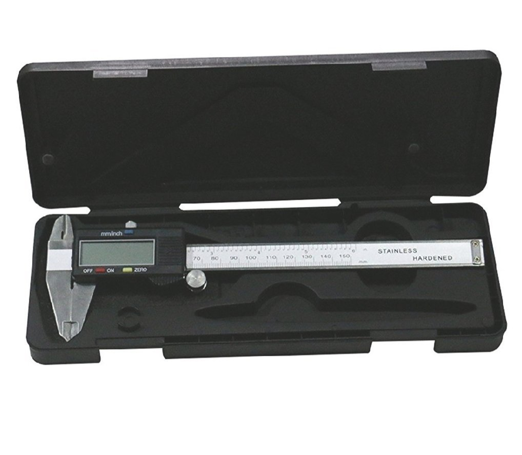 Stainless Steel Digital Vernier Caliper (150mm/6inch) by Engineering First Principles KBD Tools Co. Ltd