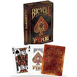 Novelty Baraja Poker Bicycle Fire Caja de Carton