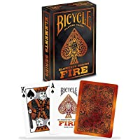 Novelty Baraja Poker Bicycle Fire Caja de Carton