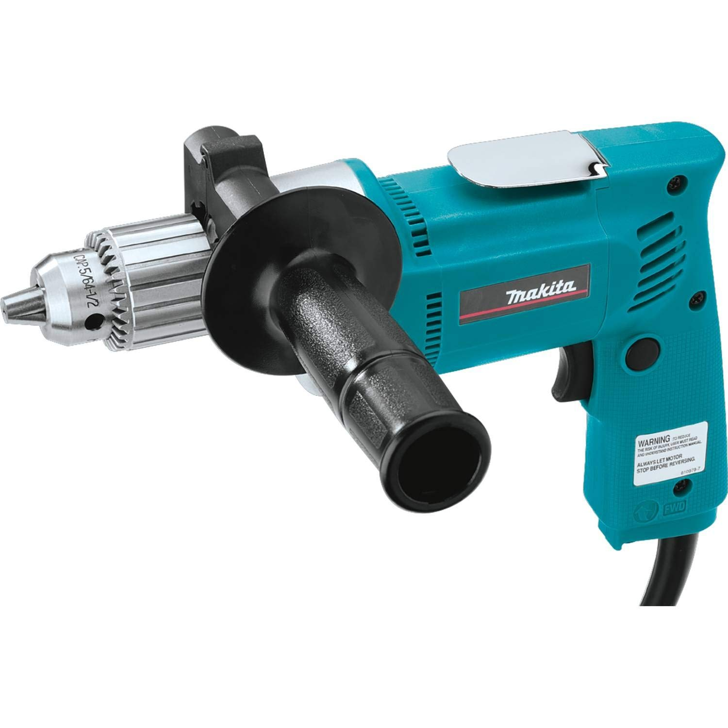 Electric Drill, 1 2 In, 0 to 550 rpm, 6.5A