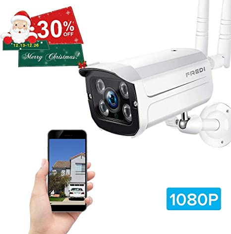 Hot selling FREDI Mini IP Camera 2.0MP 1080P HD Wireless Outdoor WIFI Camera