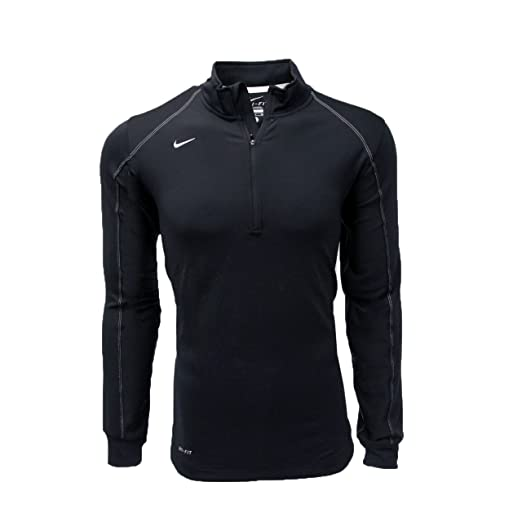 afe85c0c Amazon.com: Nike Men's Dri-FIT Half Zip Long Sleeve Training Top: Sports &  Outdoors