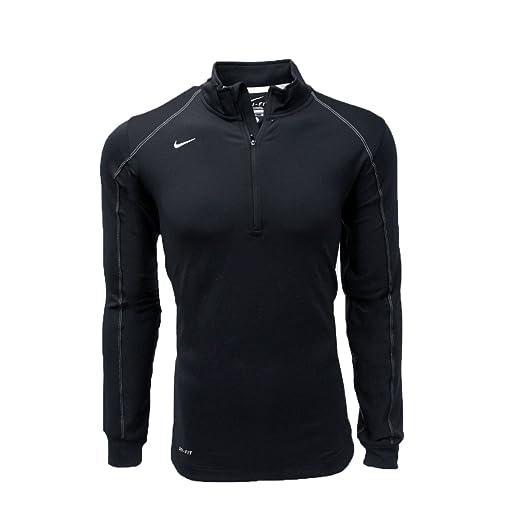 f6415f59f5 Nike Men's Dri-FIT Half Zip Long Sleeve Training Top