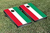 Specialty Design Cornhole Game Set Color: Italian Flag Stripes