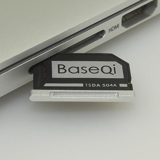 67 opinioni per Baseqi Adattatore Micro SD Alluminio argento edge per MacBook Pro Retina /MBPR