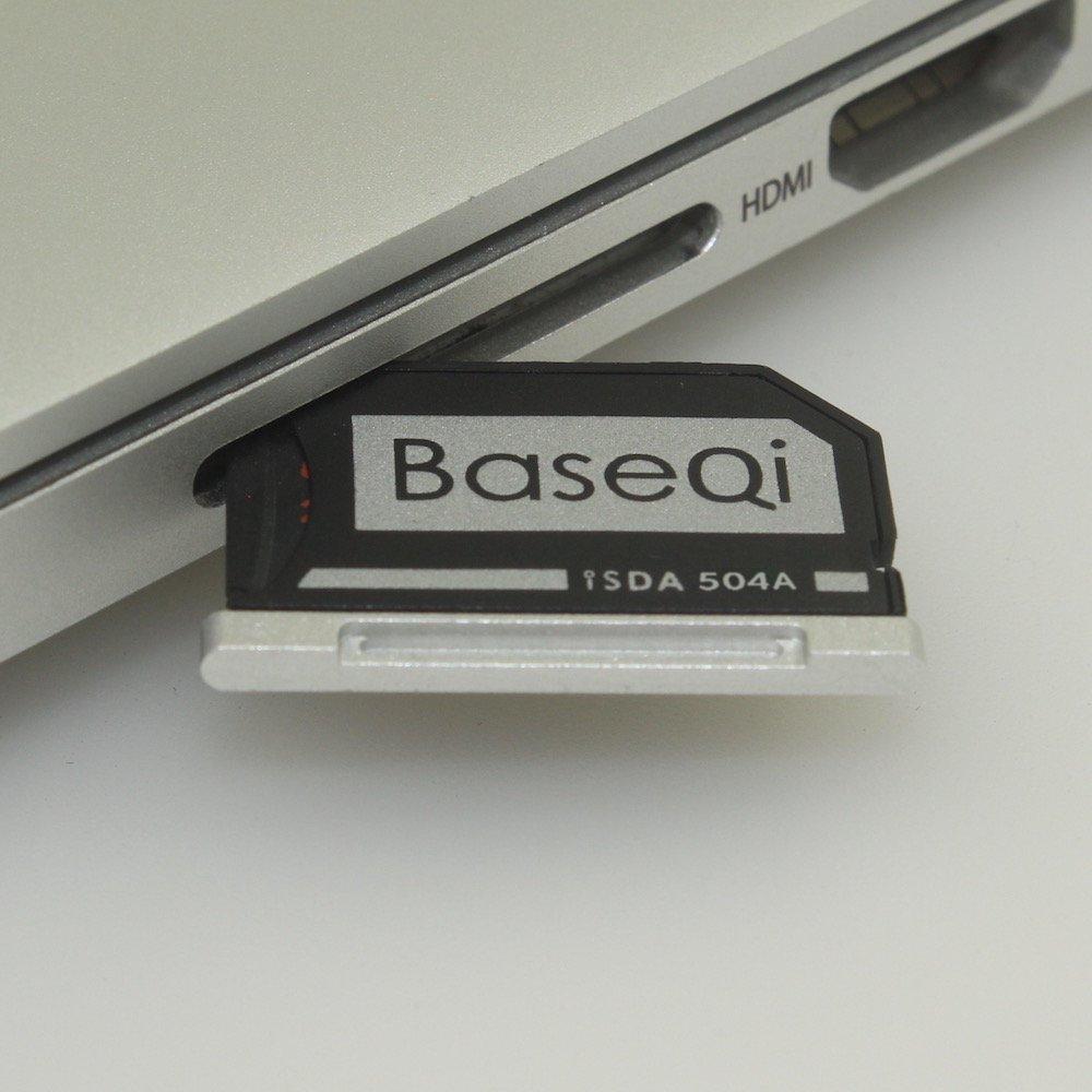 BASEQI FBA_iSDA504ASV aluminum microSD Adapter works with MacBook Pro 15'' Retina (Late 2013 onwards) by BaseQi (Image #3)