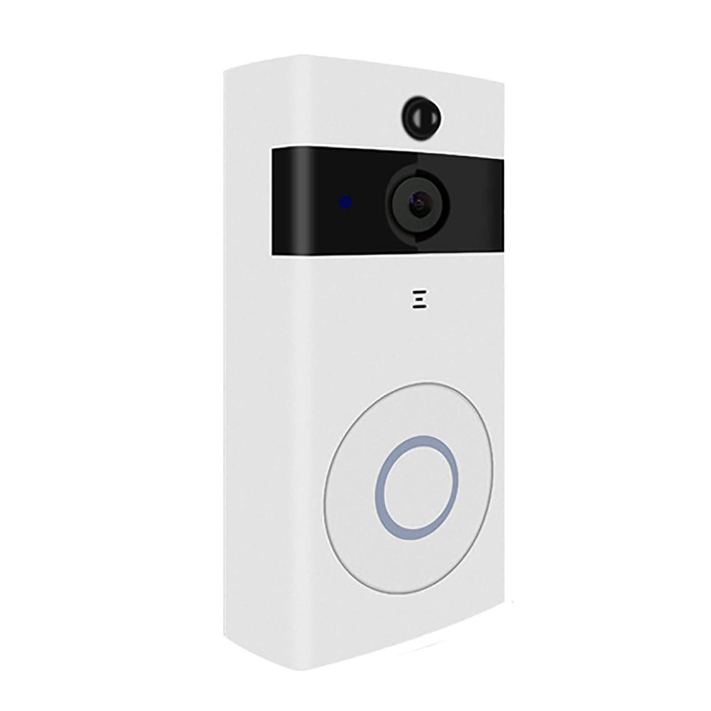 LHKAVE Intelligente Drahtlose WiFi-Video-Türklingel HD-Überwachungskamera Mit PIR-Bewegungserkennung Nachtsicht Zwei-Wege-Gespräch Und Echtzeit-Video