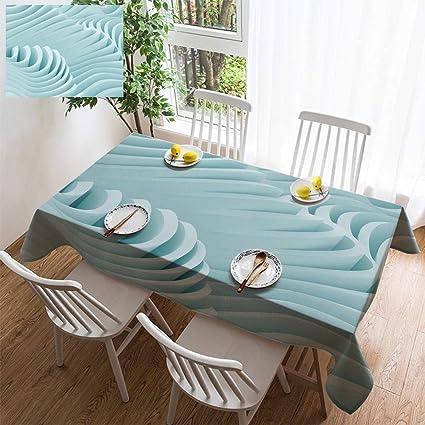 Amazon Com Hoomore Simple Color Cotton Linen Tablecloth Washable
