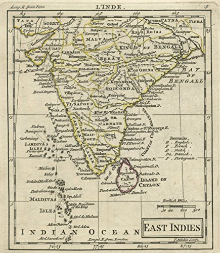1763 World Atlas   A New General and Universal Atlas Containing Forty five Maps By Andrew Dury. Engraved by Mr. Kitchin & others. East Indies.   Antique Vintage Map - Indie Vintage