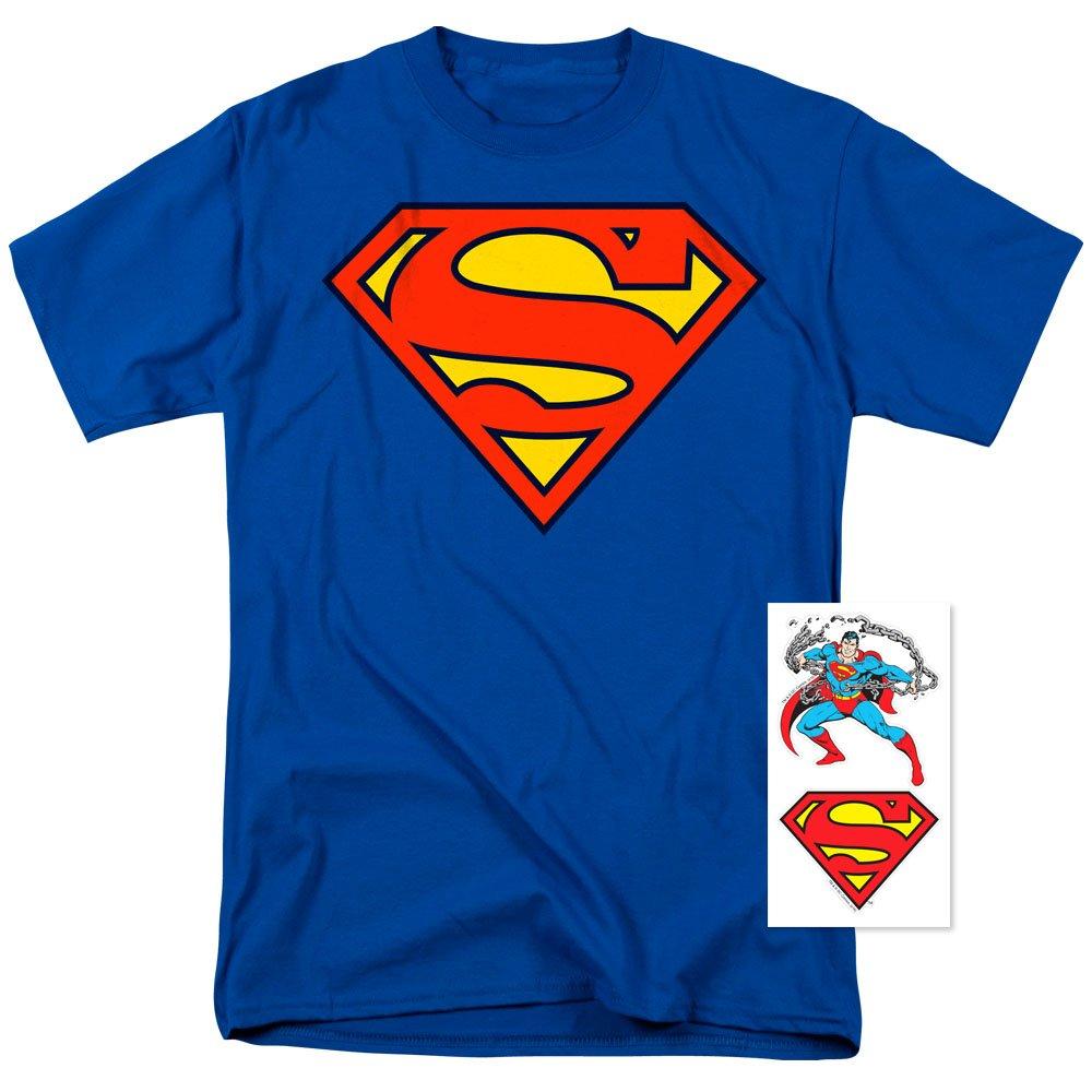 Popfunk Superman Classic Logo T Shirt (XXX-Large)