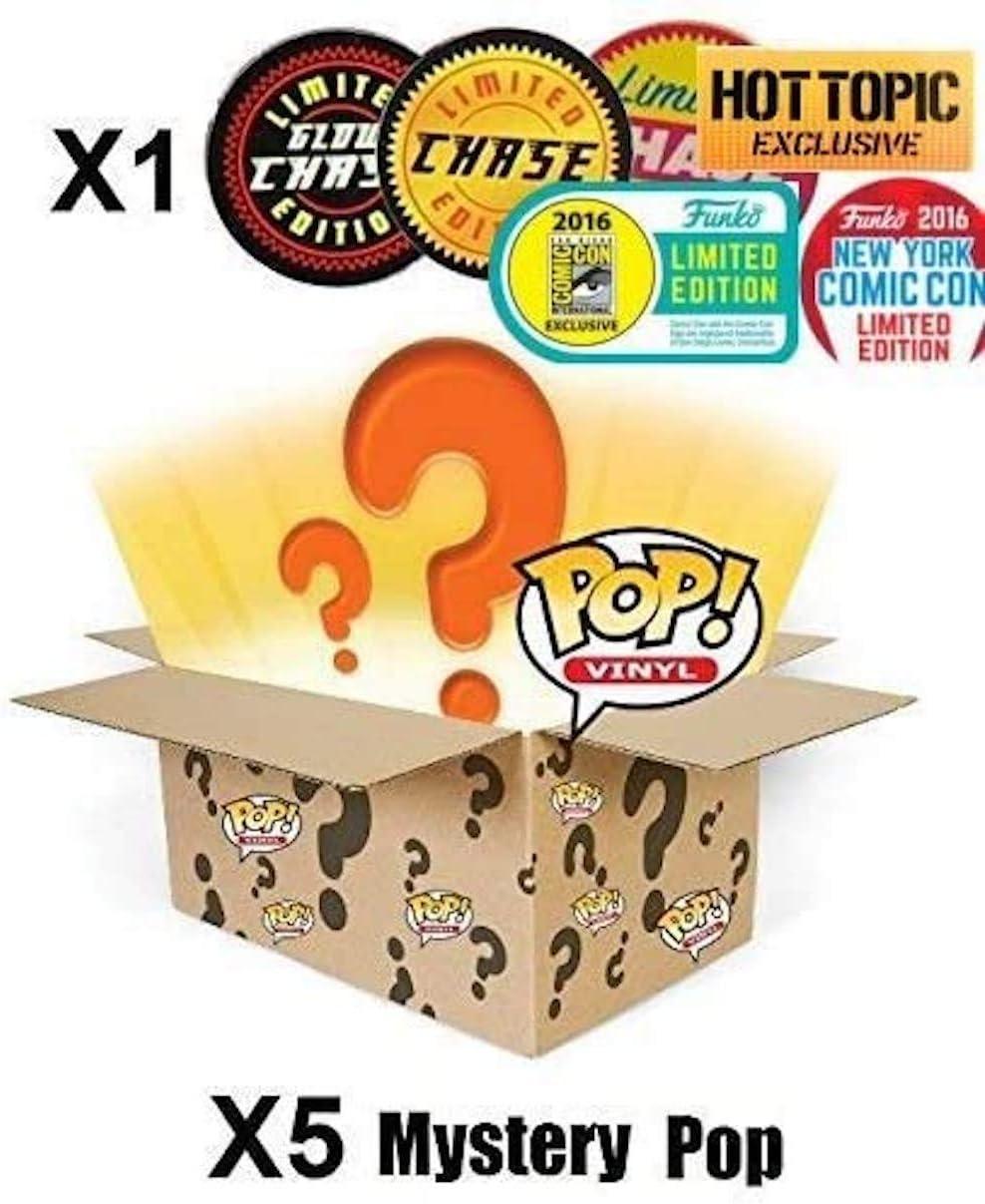 Mystery Pack Incluye Random Limited Edition, Exclusive o Chase Figure (Caja de 6): Amazon.es: Juguetes y juegos