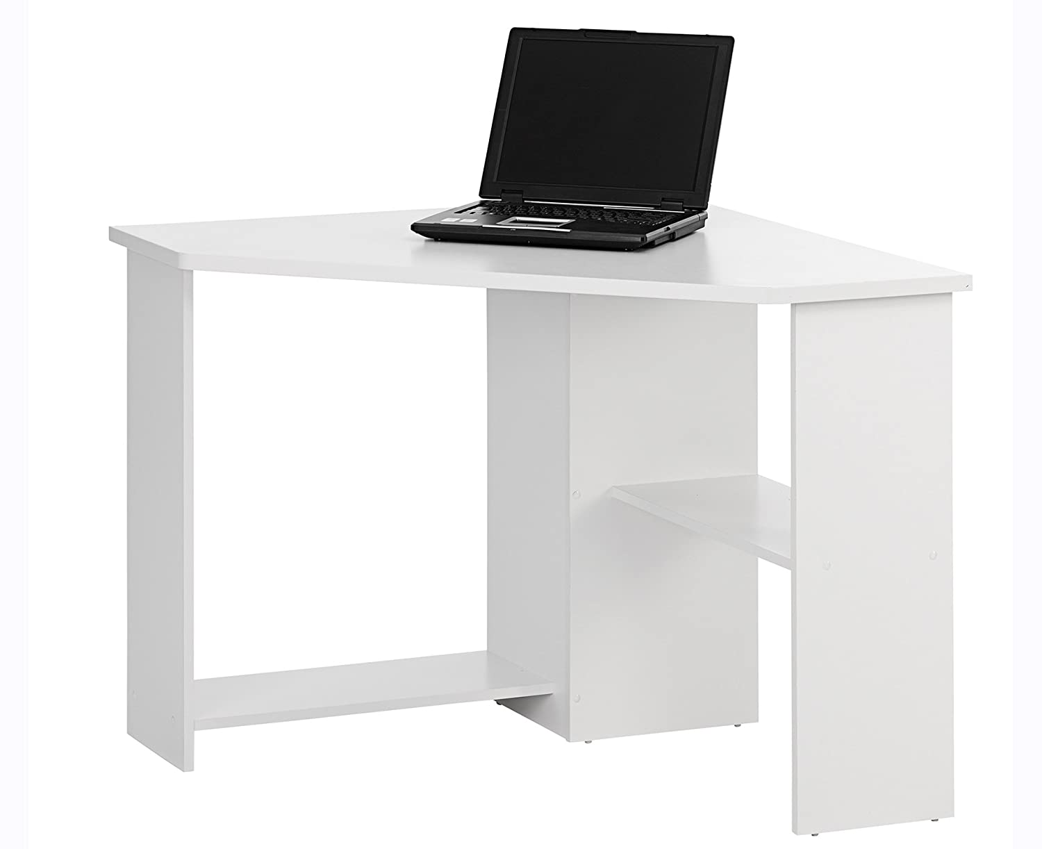 white office corner desk. Bray Corner Home Office Desk - Color: White Finish: Amazon.co.uk: Kitchen \u0026 C