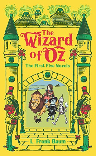 Wizard of Oz (Barnes & Noble Omnibus Leatherbound Classics): The First Five Novels (Barnes & Noble Leatherbound Classic Collection)