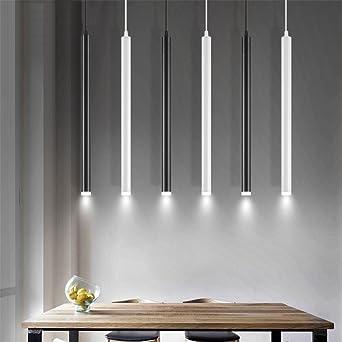 Led-Pendelleuchte Zylinder Licht Küche Insel Esszimmer Shop Theke ...
