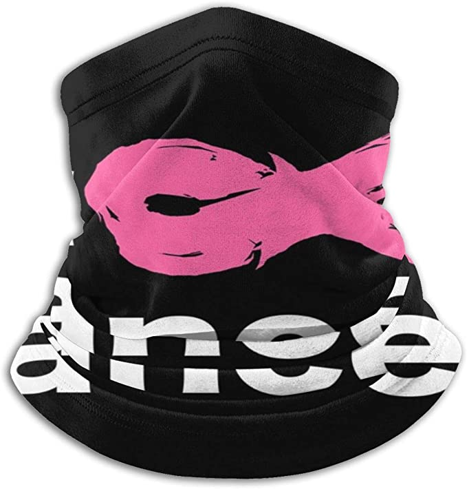 Breast Cancer Awareness Fuck Cancer Neck Gaiter Unisex