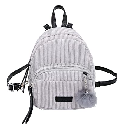 Image Unavailable. Image not available for. Color  LiPing Hairball Corduroy Kids  backpack School Bag ... b158b533bf844