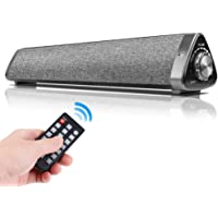 ZOESON Computer Speaker, Wired Computer Sound Bar, Stereo USB Powered Mini Soundbar Speaker for PC Cellphone Tablets Desktop Laptop