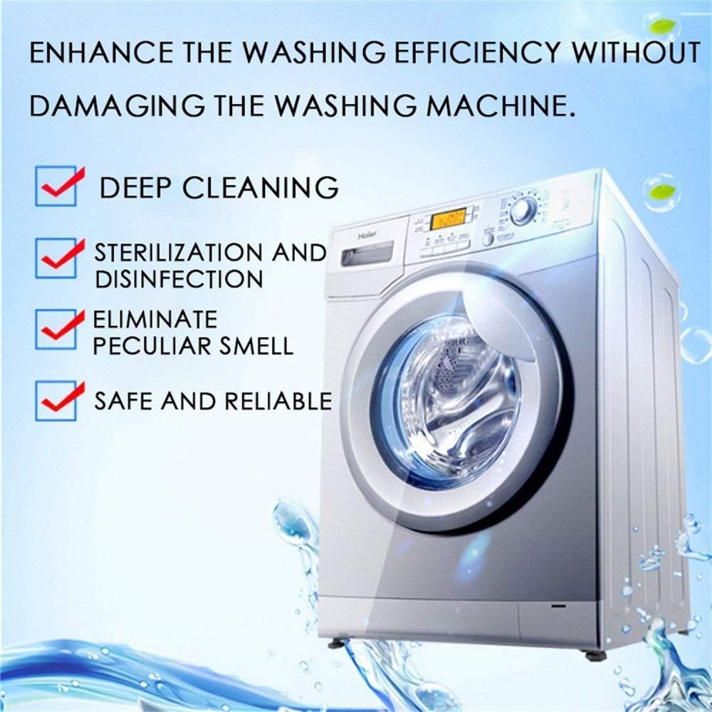 Amazon.com: 8 unidades de películas de limpieza de lavadora ...