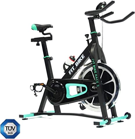 Bike Fit fitbike Race 3 Spinning Bicicleta, Negro/Verde, One Size ...
