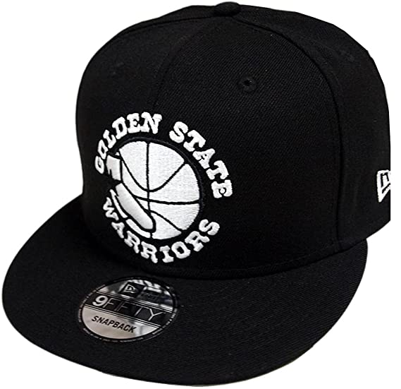 1e92731aabe New Era Golden State Warriors HC Black White 9fifty Snapback Cap Limited  Edition