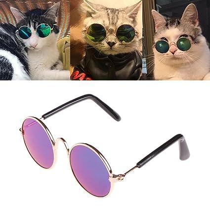 f536be626a Kofun Pet Occhiali da Sole per Cani Cat Eye Protezione UV Foto ...