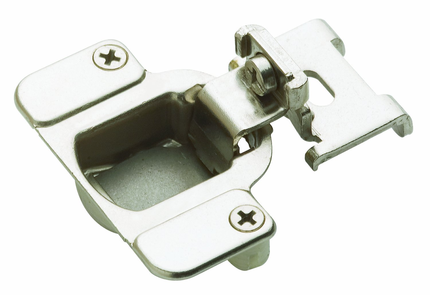 Amerock BP2811I1214 Matrix Concealed Hinge 1-7/8in(48mm) Hole Patern Hinge with 3/8in(10mm) Overlay - Nickel - Cabinet And Furniture Hinges - Amazon.com  sc 1 st  Amazon.com & Amerock BP2811I1214 Matrix Concealed Hinge 1-7/8in(48mm) Hole ...