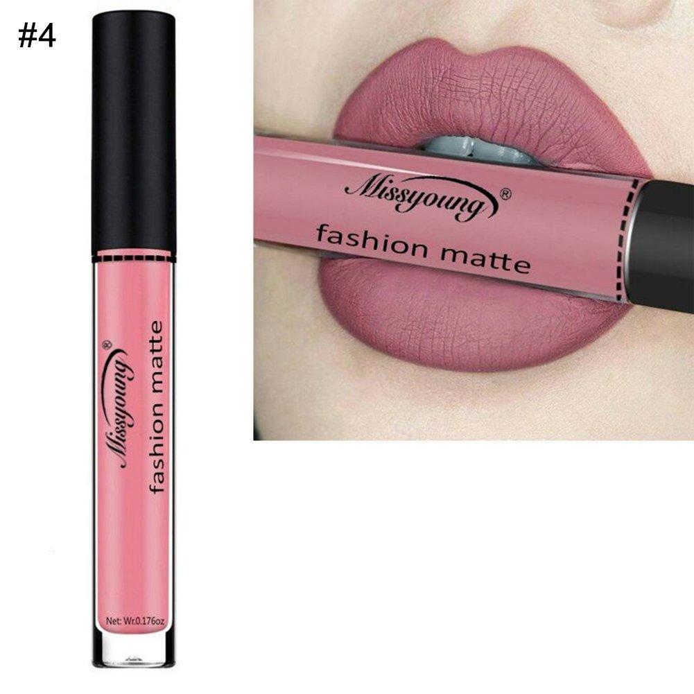 Gracefulvara Women Matte Lip Gloss Long Lasting Liquid Lipstick 9#